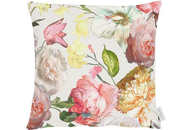 APELT Summer Garden Kissen rose / gelb 39x39 cm