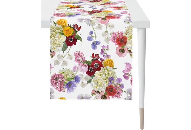 APELT Summer Garden Läufer bunt / multi 48x140 cm, Blumen