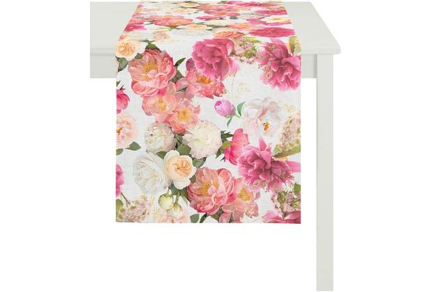 APELT Summer Garden Läufer rose 40x140