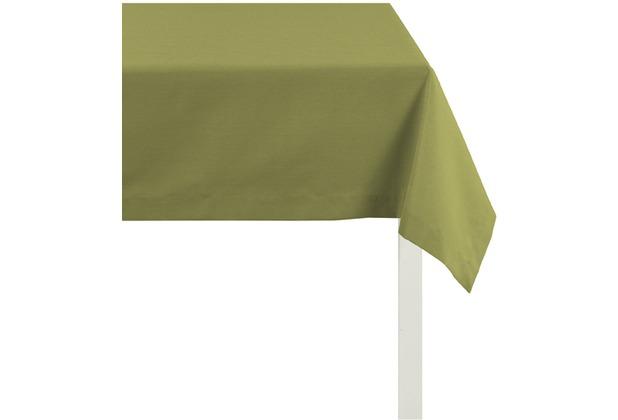 APELT Tischdecke Uni Basic, dunkelgrün 100 cm x 100 cm