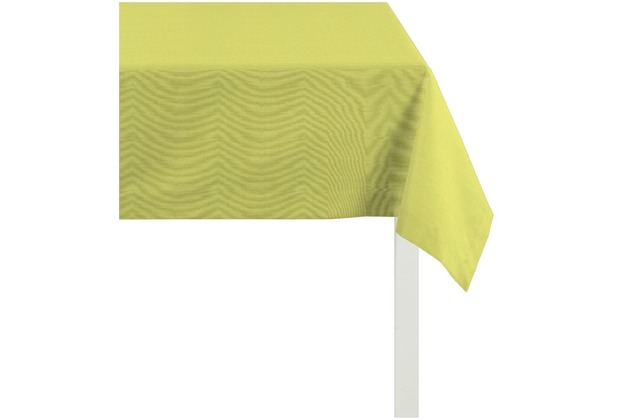 APELT Tischdecke Uni Basic, hellgrün 100 cm x 100 cm