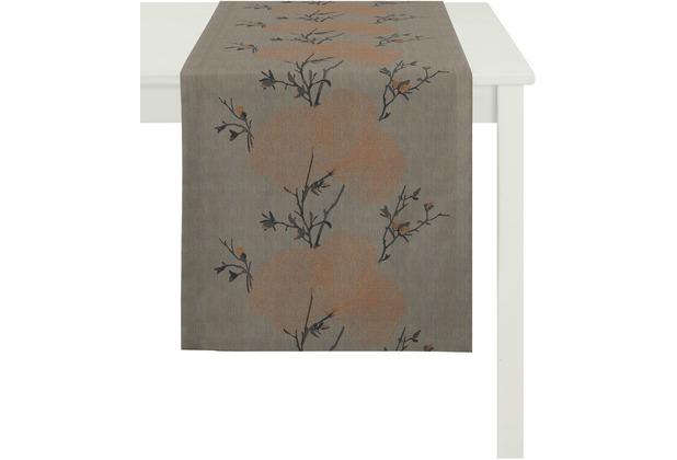 APELT Tischläufer Loft Style, baun 48 cm x 140 cm