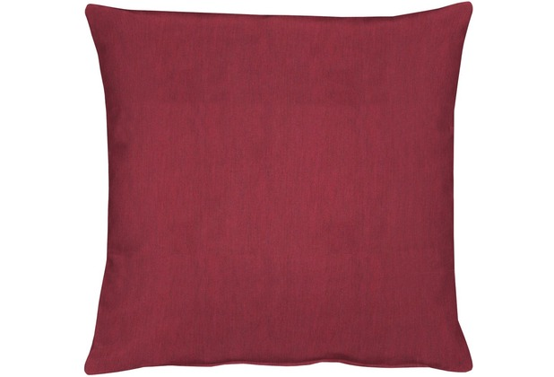 APELT Torino Basic Kissenhülle rot 40 cm x 40 cm