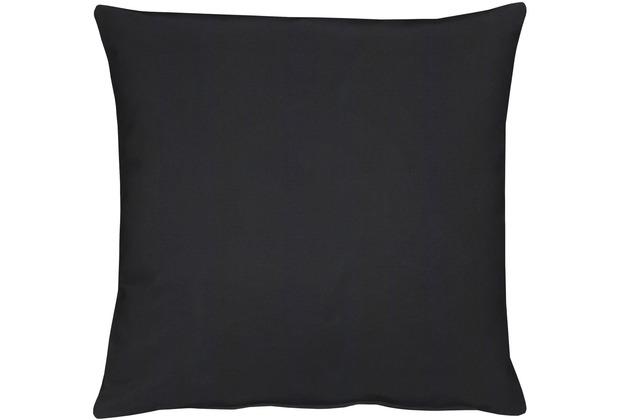 APELT Torino Basic Kissenhülle schwarz 40 cm x 40 cm