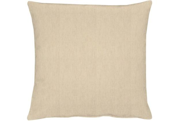 APELT Uni-Basic Kissen beige 39x39