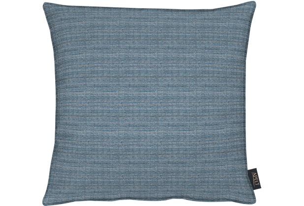 APELT Uni-Basic Kissen blau 45x45