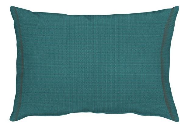 APELT Uni-Basic Kissen blaugrün 35x50