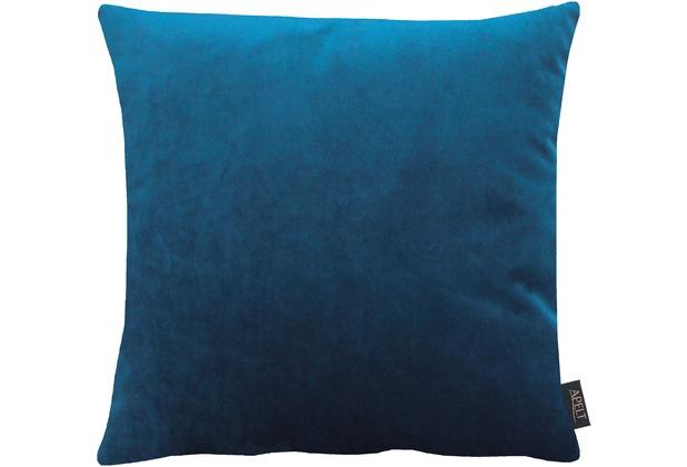 APELT Uni-Basic Kissen dunkelblau 45x45