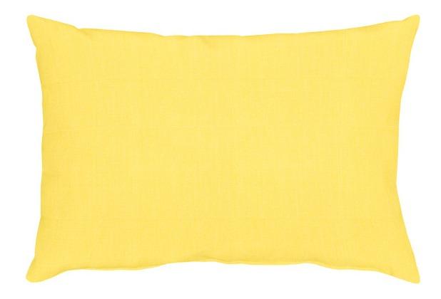 APELT Uni-Basic Kissen gelb 35x50