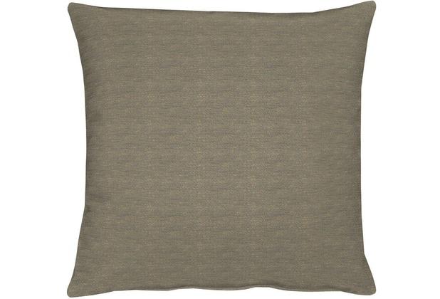 APELT Uni-Basic Kissen grau/braun 39x39