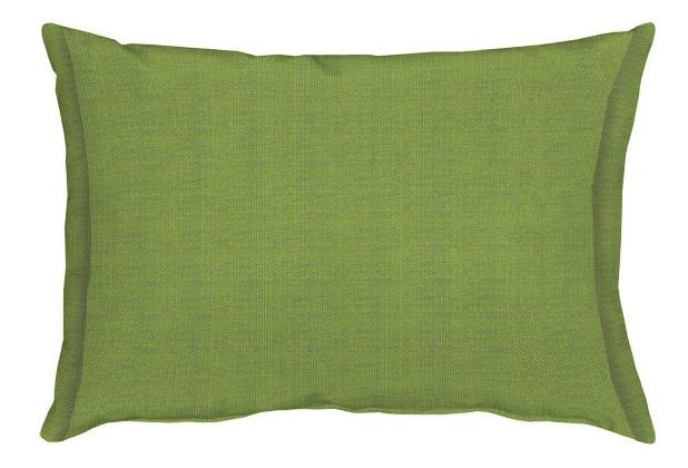 APELT Uni-Basic Kissen grün 35x50