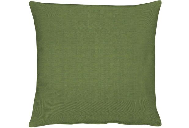 APELT Uni-Basic Kissen grün 39x39
