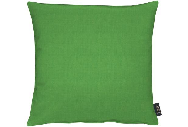 APELT Uni-Basic Kissen grün 45x45, schlicht