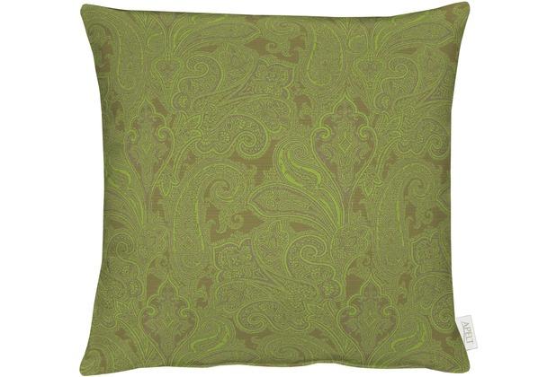 APELT Uni-Basic Kissen grün 48x48, Barock