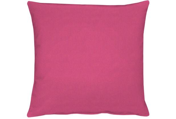 APELT Uni-Basic Kissen pink 48x48