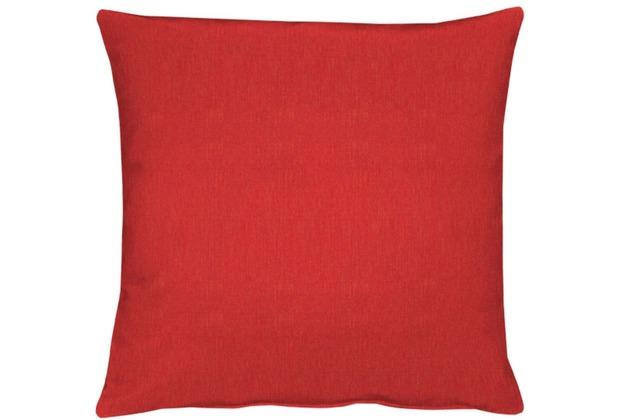 APELT Uni-Basic Kissen rot 39x39