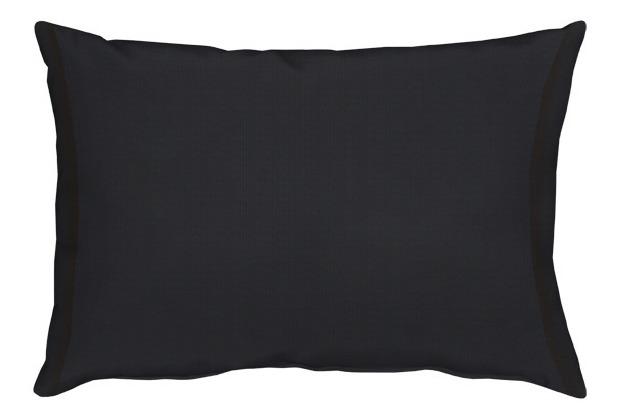 APELT Uni-Basic Kissen schwarz 35x50