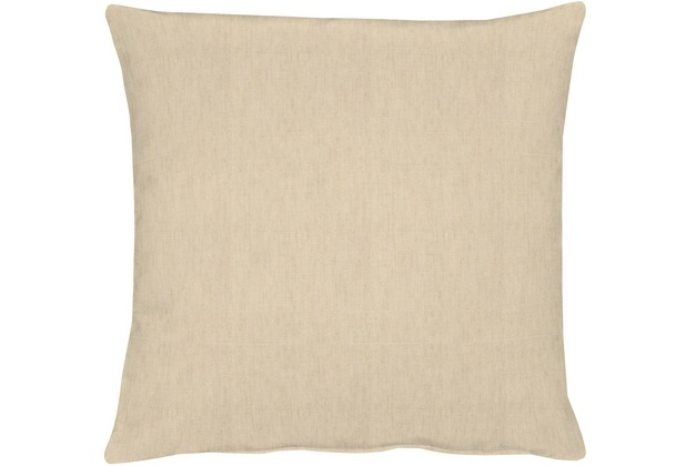 APELT Uni-Basic Kissenhülle beige 49x49