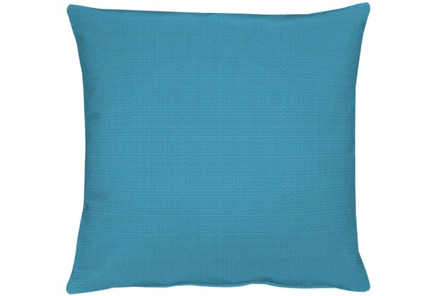 APELT Uni-Basic Kissenhülle blaugrün 49x49