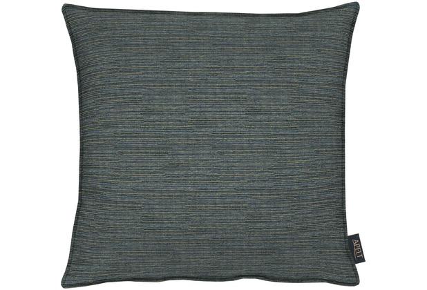 APELT Uni-Basic Kissenhülle dunkelblau 46x46, meliert