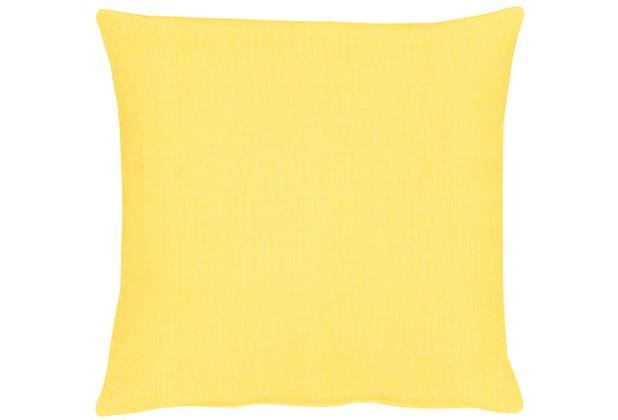 APELT Uni-Basic Kissenhülle gelb 40x40, hell