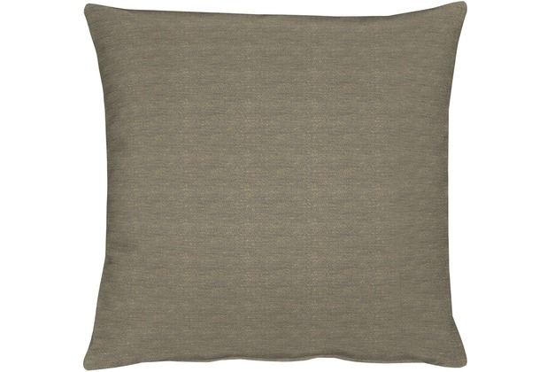 APELT Uni-Basic Kissenhülle grau/braun 49x49