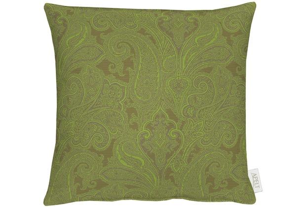 APELT Uni-Basic Kissenhülle grün 40x40