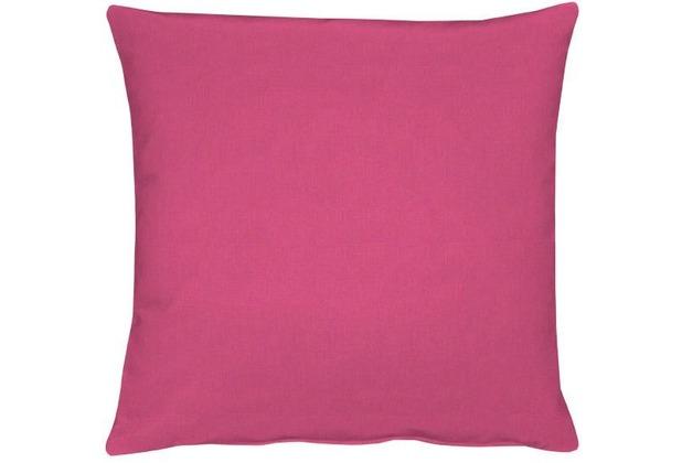 APELT Uni-Basic Kissenhülle pink 40x40