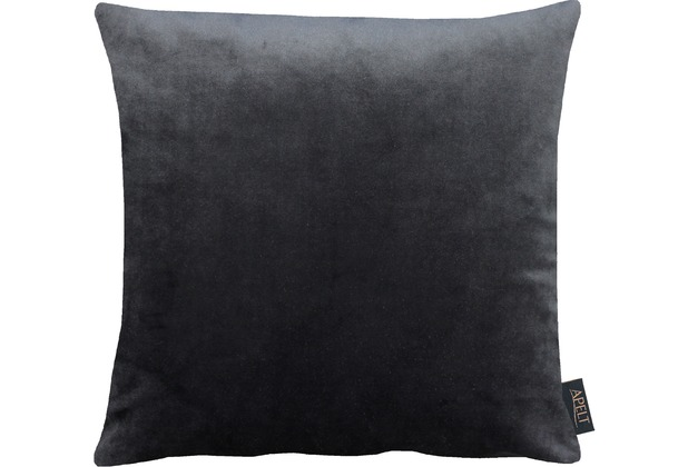 APELT Uni-Basic Kissenhülle schwarz 46x46