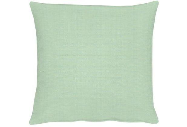 APELT Uni-Basic Kissenhülle trürkis-grün 40x40