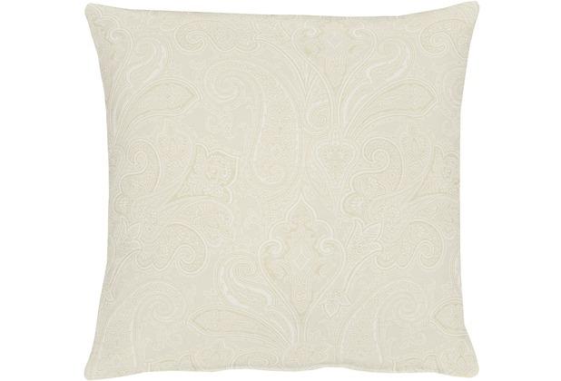 APELT Uni-Basic Kissenhülle weiß 40x40, Barock