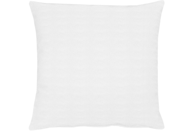 APELT Uni-Basic Kissenhülle weiß 49x49