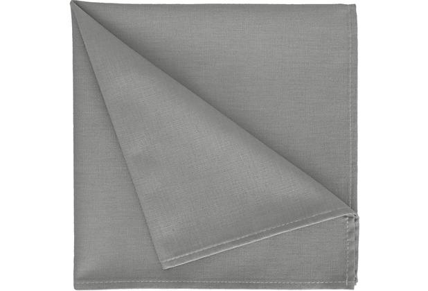 APELT Uni-Basic Serviette dunkelgrau 45x45