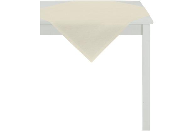 APELT Uni-Basic Tischdecke beige 93x93