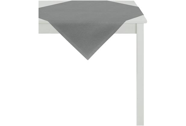 APELT Uni-Basic Tischdecke dunkelgrau 93x93