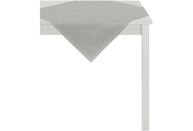 APELT Uni-Basic Tischdecke grau 93x93