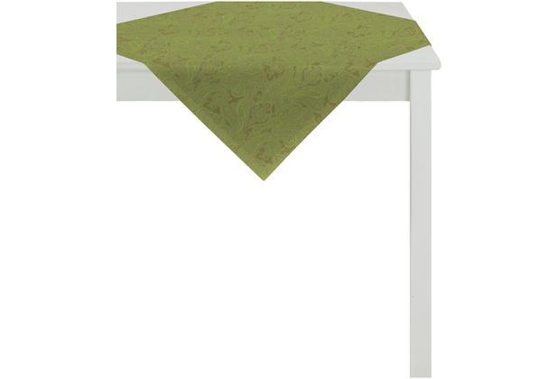 APELT Uni-Basic Tischdecke grün 100x100