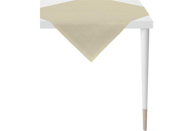 APELT Uni-Basic Tischdecke leinen 95x95
