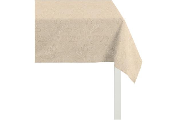 APELT Uni-Basic Tischdecke natur 100x100