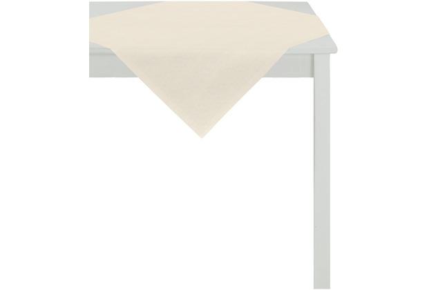 APELT Uni-Basic Tischdecke natur 93x93