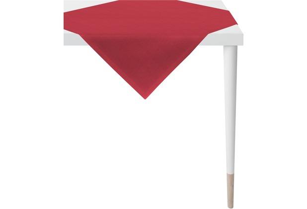 APELT Uni-Basic Tischdecke rot 95x95