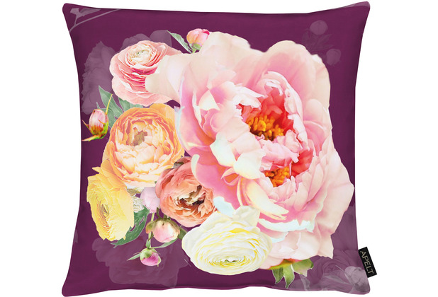 APELT UNIQUE Kissen beere/rose 45x45 cm