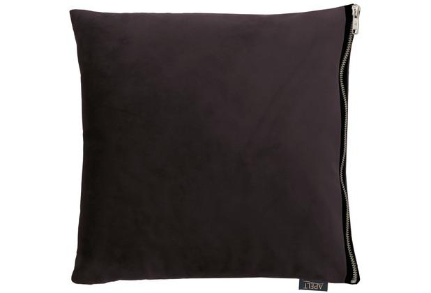 APELT UNIQUE Kissenhülle schwarz 46x46