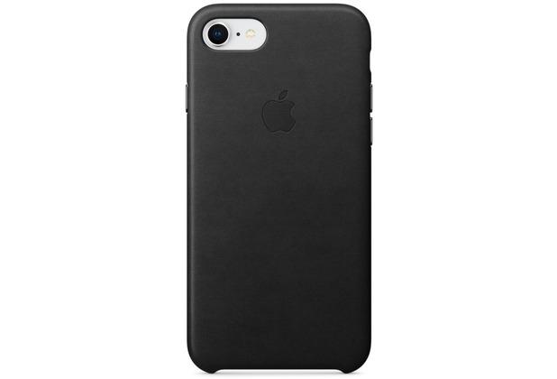Apple iPhone 7 / 8 Leather Case - Black