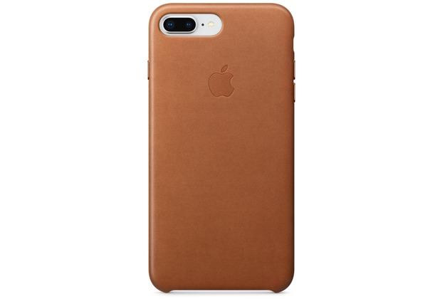 Apple iPhone 7 Plus / iPhone 8 Plus Leather Case - Saddle Brown