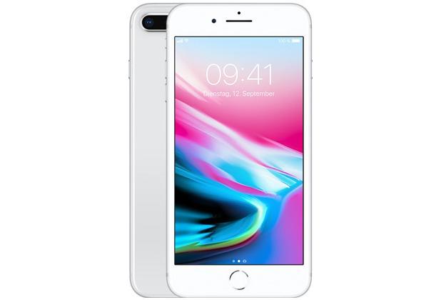 Apple iPhone 8 Plus, 64GB - Silver
