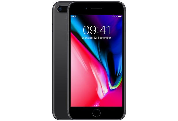 Apple iPhone 8 Plus, 64GB - Space Grey