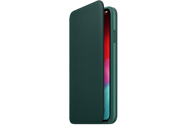 Apple iPhone XS Max Leather Folio forest green
