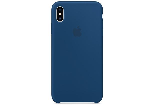 Apple iPhone XS Max Silicone Case blue horizon