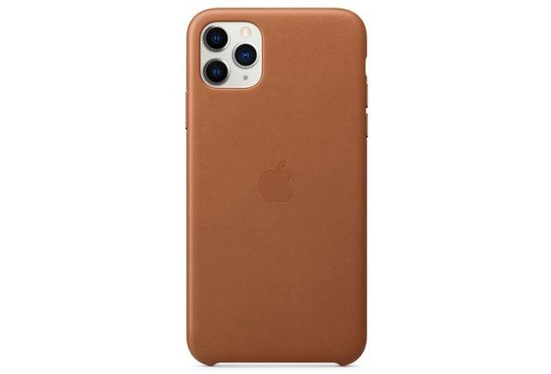 Apple Leder Case iPhone 11 Pro Max sattelbraun